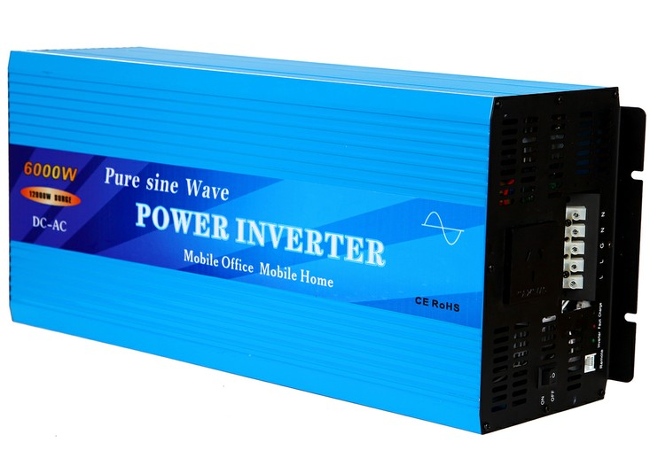 6000W Pure Sine Wave Power Inverter
