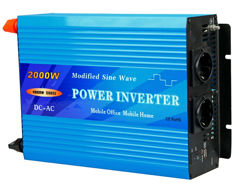 2000W Modified Sine Wave Power Inverter
