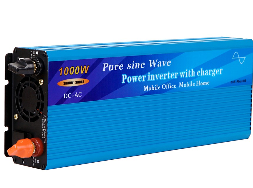1000W Pure Sine Wave Power Inverter with built-in charger and auto transfer switch